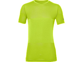 FUZEX SEAMLESS SHORT SLEEVE TOP, Energy Green