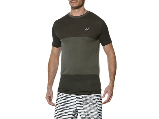 FUZEX SEAMLESS SS, Dark Grey