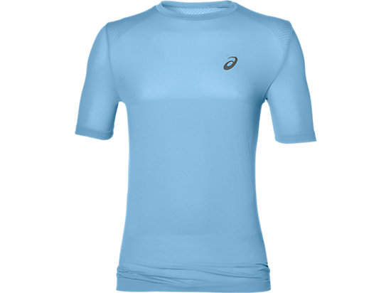 FUZEX SEAMLESS SHORT SLEEVE TOP, Powder Blue