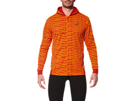 FUZEX MESH JACKET, Sq Orange Pop