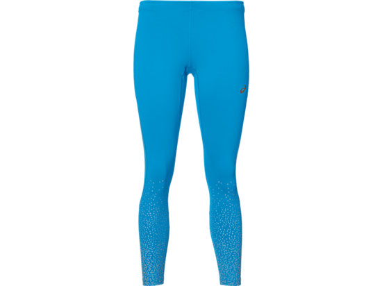 COLLANTS DE RUNNING ELITE 7/8 POUR FEMMES, Glitz Diva Blue
