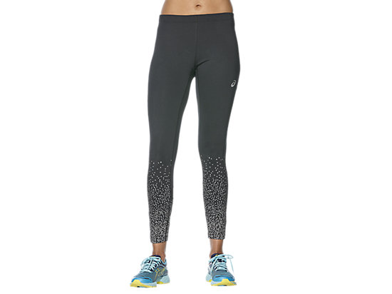 ELITE 7/8 LAUF-TIGHTS FÜR DAMEN, Glitz Performance Black