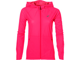 WATERPROOF JACKET, Diva Pink