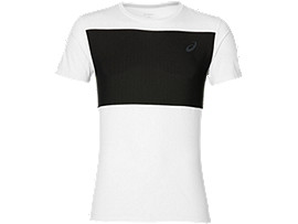 POLY MESH TOP, Real White