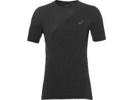 SEAMLESS TOP, Dark Grey Heather