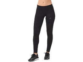 PANTALONI ADERENTI DA CORSA LEG BALANCE DA DONNA, Performance Black/Performance Black