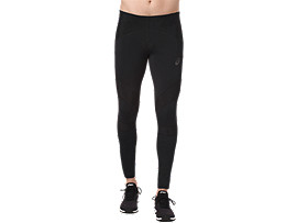 LEG BALANCE RUNNING TIGHT FÜR HERREN, Performance Black/Performance Black