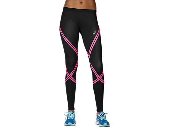 ASICS RUN TIGHT, Performance Black/Diva Pink
