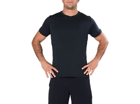 SS POLY TOP, Performance Black