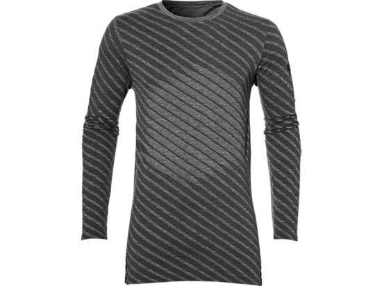SEAMLESS LS TOP, Dark Grey Heather