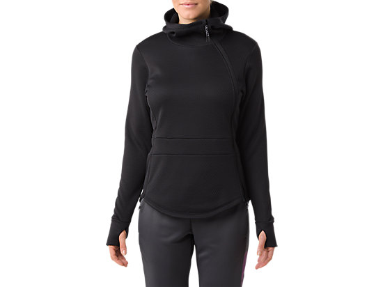 TECH FULL ZIP JACKET, Performance Black