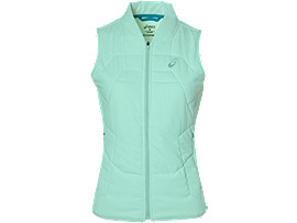 ATHLETE PADDED VEST, Glacier Sea