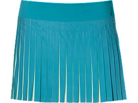 ATHLETE PLEAT SKORT, Arctic Aqua