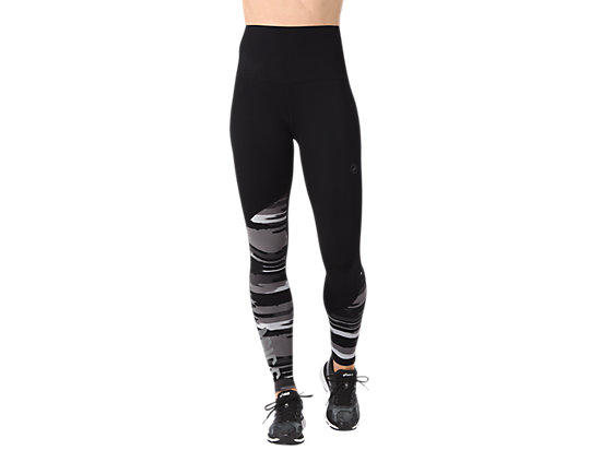 FUZEX HIGHWAIST TIGHT, Performance Black/Impulse Dark Grey