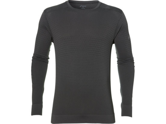 FUZEX SEAMLESS LS, Dark Grey