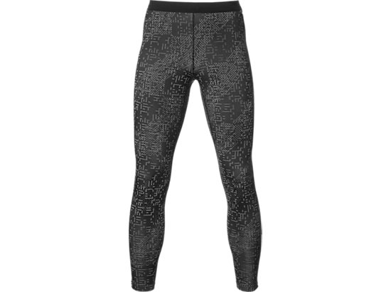 LITE-SHOW WINTER TIGHT, Lite Stripe Performance Black