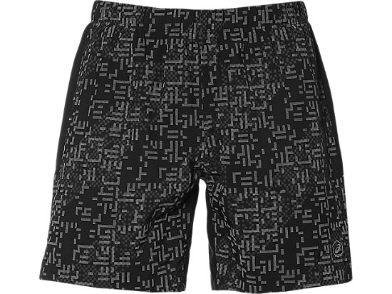 LITE-SHOW 7IN SHORTS, Lite Stripe Performance Black