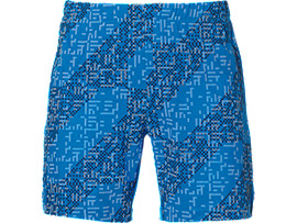 LITE-SHOW 7IN SHORTS, Lite Stripe Directoire Blue