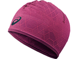 BEANIE GRAPHIC, Prune/ Cosmo Pink