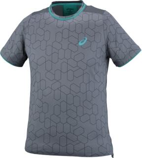 男式网球印花短袖T恤