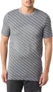 男式运动无缝拼接短袖T恤