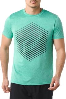 男式运动印花短袖T恤