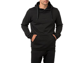 PULL OVER HOODIE       , Performance Black