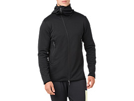 W-REPEL KNIT FZ JKT, PERFORMANCE BLACK