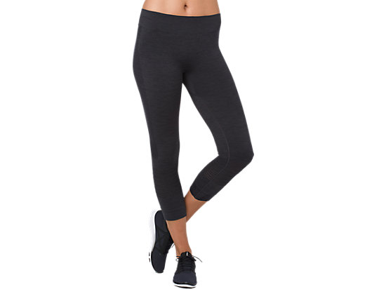COOL ¾ TIGHTS, PERFORMANCE BLACK HEATHER