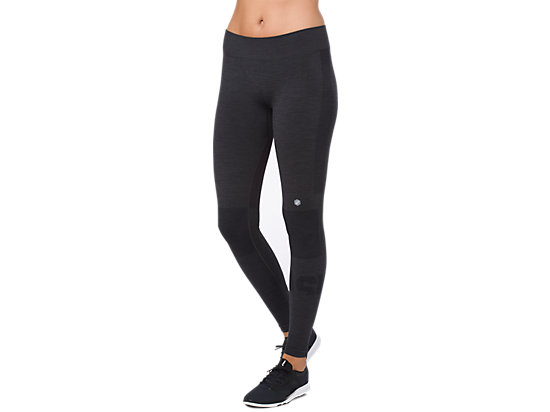 7/8 TIGHT, PERFORMANCE BLACK HEATHER