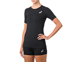 BASELAYER SS TOP  , Performance Black
