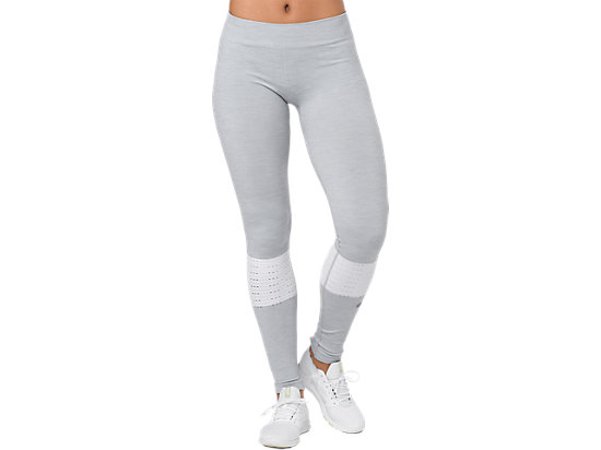 SEAMLESS TIGHT, MID GREY HEATHER