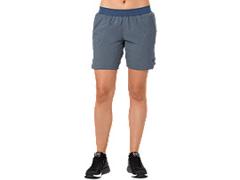 7IN SHORTS, DARK BLUE HEATHER