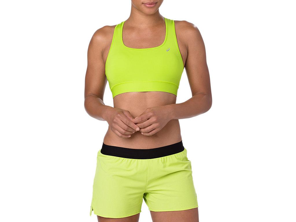 ASICS Run Bra Neon Lime Mujer Talla L