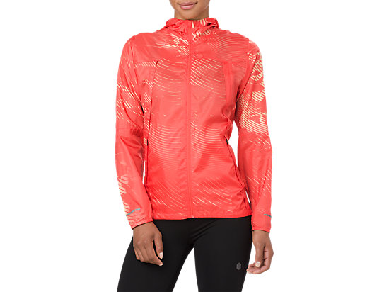 PACKABLE JACKET, Shadow Coralicious