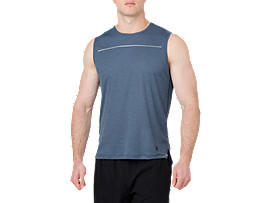 LITE-SHOW SLEEVELESS, Dark Blue