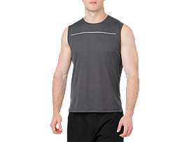LITE-SHOW SLEEVELESS, PERFORMANCE BLACK