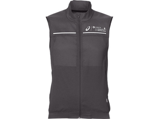 LITE-SHOW VEST, DARK GREY