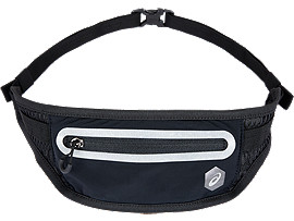 WAIST POUCH M, PERFORMANCE BLACK