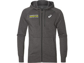 FZ HOODIE, DARK GREY HEATHER