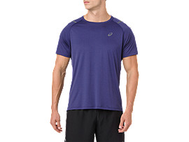 Men's ICON SS TOP | NOVA ORANGEDARK GREY | T Shirts | ASICS