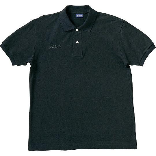 【ASICS/アシックス】 ポロシャツ ブラック ユニセックス