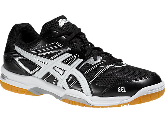 GEL-ROCKET 7, Black/White/Silver