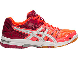 GEL-ROCKET 7, Flash Coral/White/Cerise