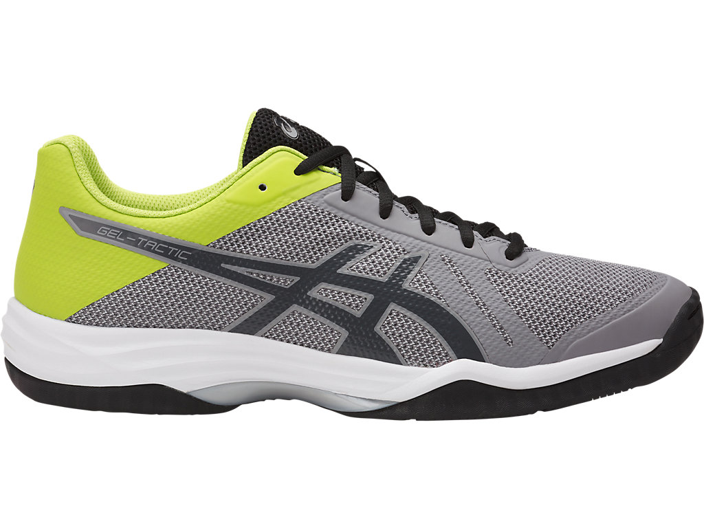 ASICS indoor GEL SQUAD NEON GREEN BLACK FLASH YELLOW TG. 46