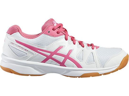 GEL-UPCOURT GS, White/Azalea Pink/White