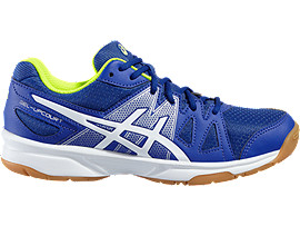 GEL-UPCOURT GS, Asics Blue/White/Safety Yellow