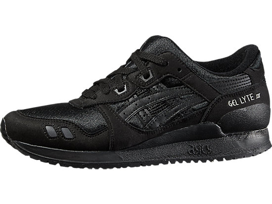 GEL-LYTE III GS, Black/Black