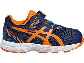 GT-1000 5 TS VOOR KINDEREN, Indigo Blue/Hot Orange/Thunder Blue