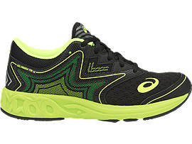 NOOSA GS, Black/Safety Yellow/Green Gecko